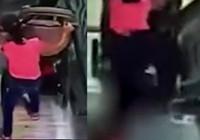 Rusya'da yürüyen merdivenlerde korkunç kaza
