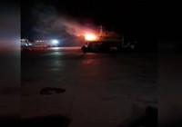 İstanbul'da korkutan gemi yangını!