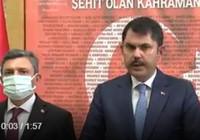 Bakan Kurum depremle ilgili konuştu