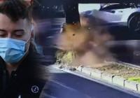 Ölümden dönen YouTuber Enes Batur'un feci kaza görüntüleri ortaya çıktı