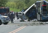 Brezilya'da katliam gibi kaza: 37 ölü