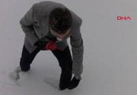 Ankara'ya lapa lapa kar yağıyor!