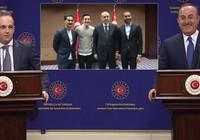 """Çavuşoğlu'ndan Almanya Dışişleri Bakanı Maas'a: """"Umarım Mesut Özil'in Cumhurbaşkanımız ile fotoğraf çektirmesinden yine rahatsız olmazsınız?"""""""