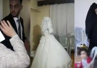 Polis gürültü şikayetiyle gitti, düğün yapan gelin damatla karşılaştı