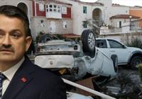 Bakan Pakdemirli İzmir'deki son durumu paylaştı