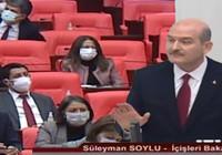 Bakan Soylu'dan HDP sıralarına: Hiç gülmeyin hanımefendi