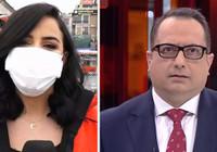 CNN Türk muhabirine canlı yayında küfür; Yayın apar topar kesildi…