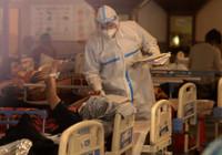 Hindistan'da artan vakalar alarm veriyor: Bir yatakta 2 hasta!