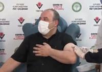 Yerli aşıda yeni gelişme! Bakan Varank ilk dozu canlı yayında yaptırdı