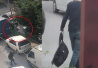 Bakan Soylu'nun duyurduğu otogarda patlayıcının ele geçirildiği operasyon kamerada