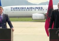 Arnavutluk ve AB görüşmesinde Türk Hava Yolları sürprizi