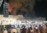 Mescid-i Aksa'daki yangını kutladılar