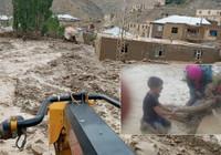Van Başkale'de sel felaketi! Bir kadın son anda kurtarıldı