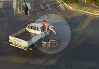 Motosiklet kazaları Mobese'de