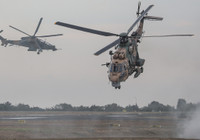 ATAK ve Cougar As-532 helikopterlerinden nefes kesen tahliye tatbikatı