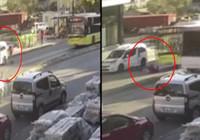 İstanbul'da scooter faciası: Otobüsün altında kalıp can verdi
