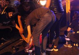 Beşiktaş'ta motosiklet kazası: biri ağır, 2 yaralı