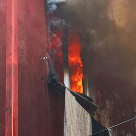 Ataşehir'de yangında can pazarı