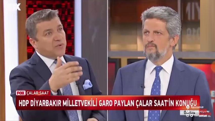 HDP'li vekil Garo Paylan'ın sözleri İsmail Küçükkaya'yı kızdırdı