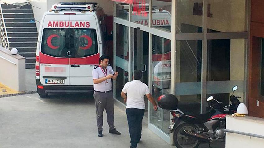 Antalya'da hastanede klima ünitesi patladı