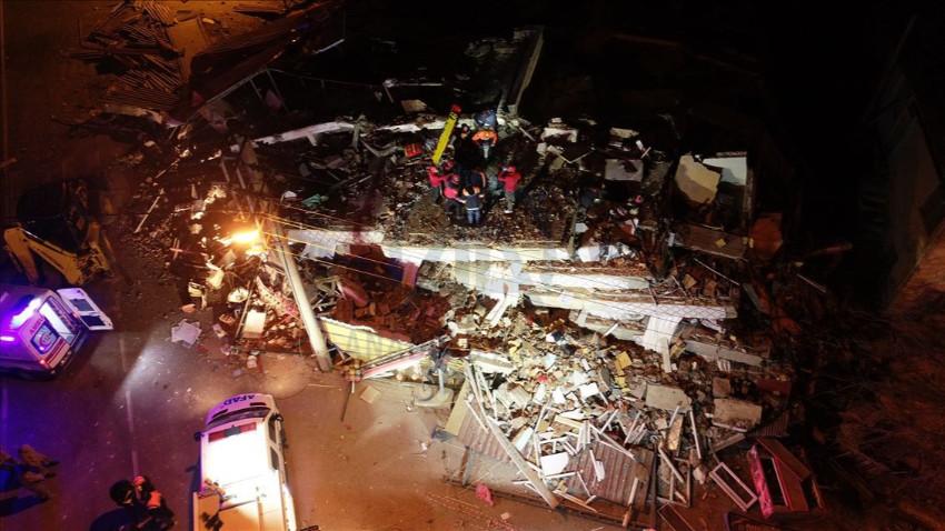 Elazığ'da 5.1 büyüklüğünde artçı deprem!