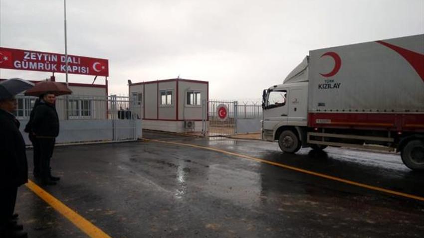 Zeytin Dalı Sınır Kapısı açıldı