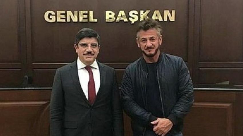 Sean Penn'den AK Parti'ye ziyaret