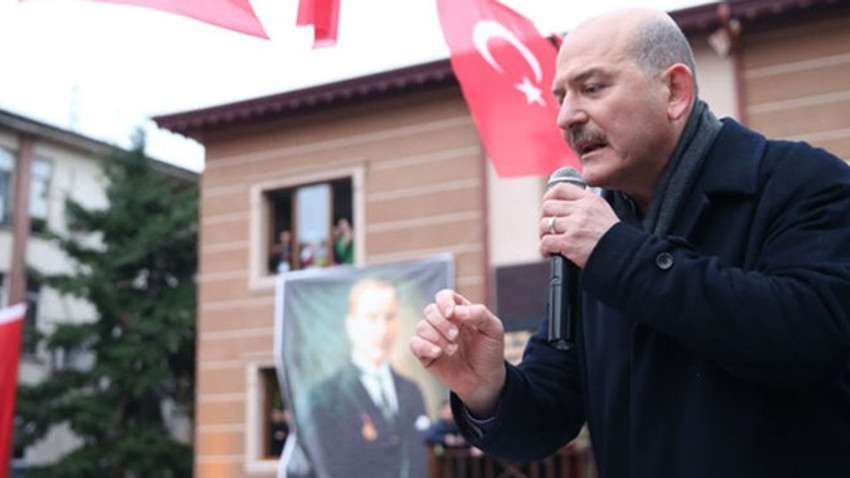 """İçişleri Bakanı Süleyman Soylu: """"Akşener, Çiller ve Bahçeli'ye ihanet etti"""""""