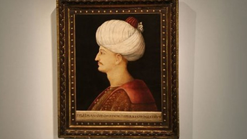 Kanuni Sultan Süleyman portresi Londra'da 5 milyon 625 bin sterline satıldı