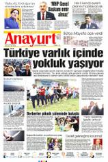 Anayurt Gazetesi Manşeti