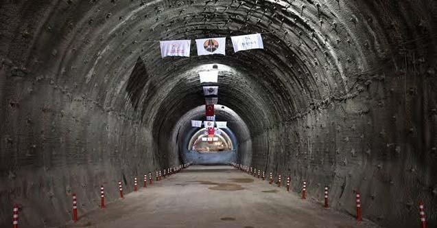 Karadeniz'i İç Anadolu'ya bağlayan tünelde son kazmalar