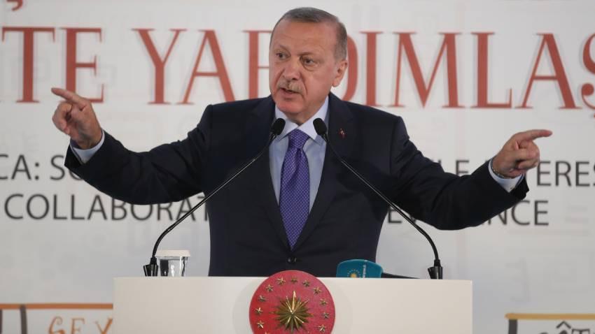 """Erdoğan: """"Silah ambargosu uygulayanlar Ruanda'da teröristlere silah yardımı yapmıştı"""""""