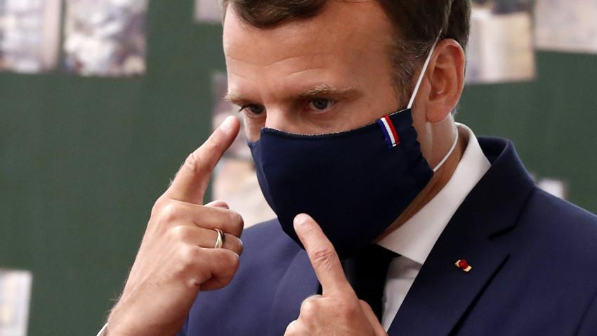 Macron'dan Türkiye ile ilgili küstah sözler