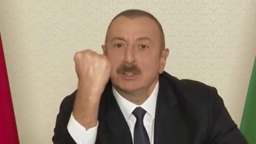 Azerbaycan Cumhurbaşkanı Aliyev: Paşinyan'ın anlaşmayı kendi isteğiyle değil Azerbaycan'ın demir yumruğu sayesinde imzaladı