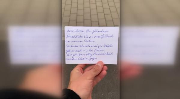 Max Kruse'ye hakaret ve tehdit dolu mektup - Sayfa 2