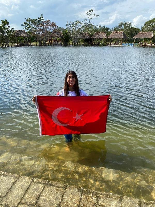 Fatma Uruk, serbest dalışta Meksika'da dünya rekoru kırdı - Sayfa 2