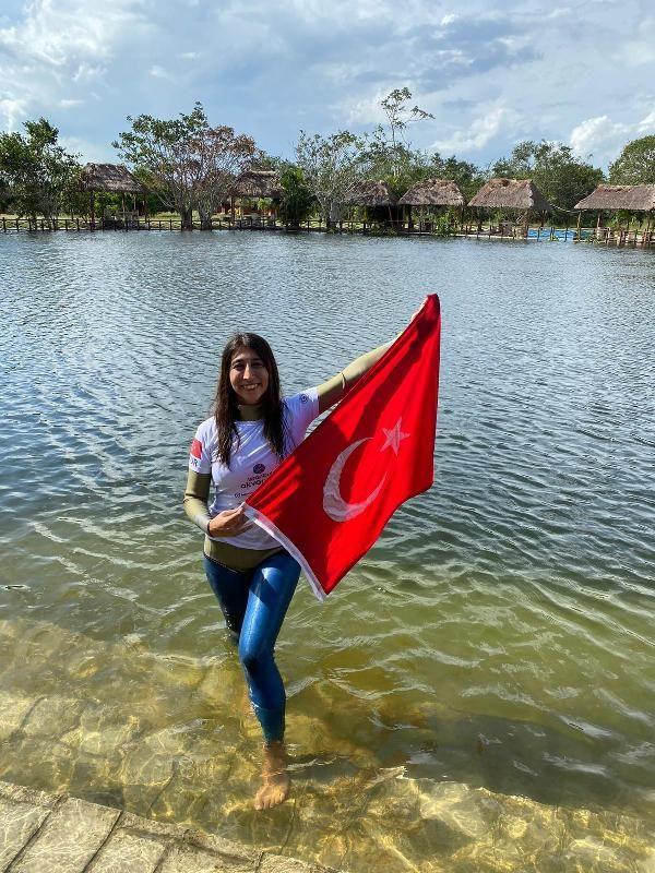 Fatma Uruk, serbest dalışta Meksika'da dünya rekoru kırdı - Sayfa 3