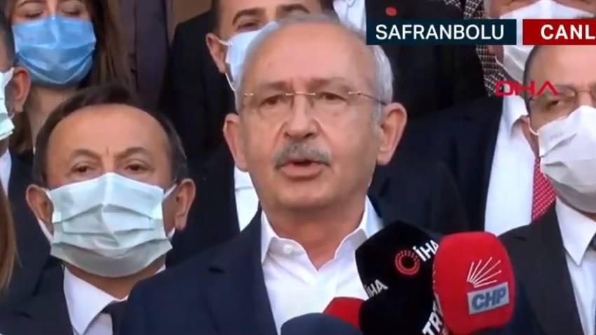 Kılıçdaroğlu: Mafya babasına sahip çıkıyorsa, burada bir demokrasi sorunu vardır