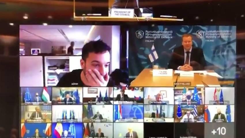 Hollandalı gazeteci AB'nin gizli toplantısına sızdı!
