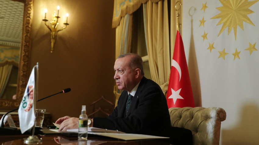Erdoğan: Suriye'de DEAŞ'la göğüs göğüse çarpışan tek NATO ülkesiyiz