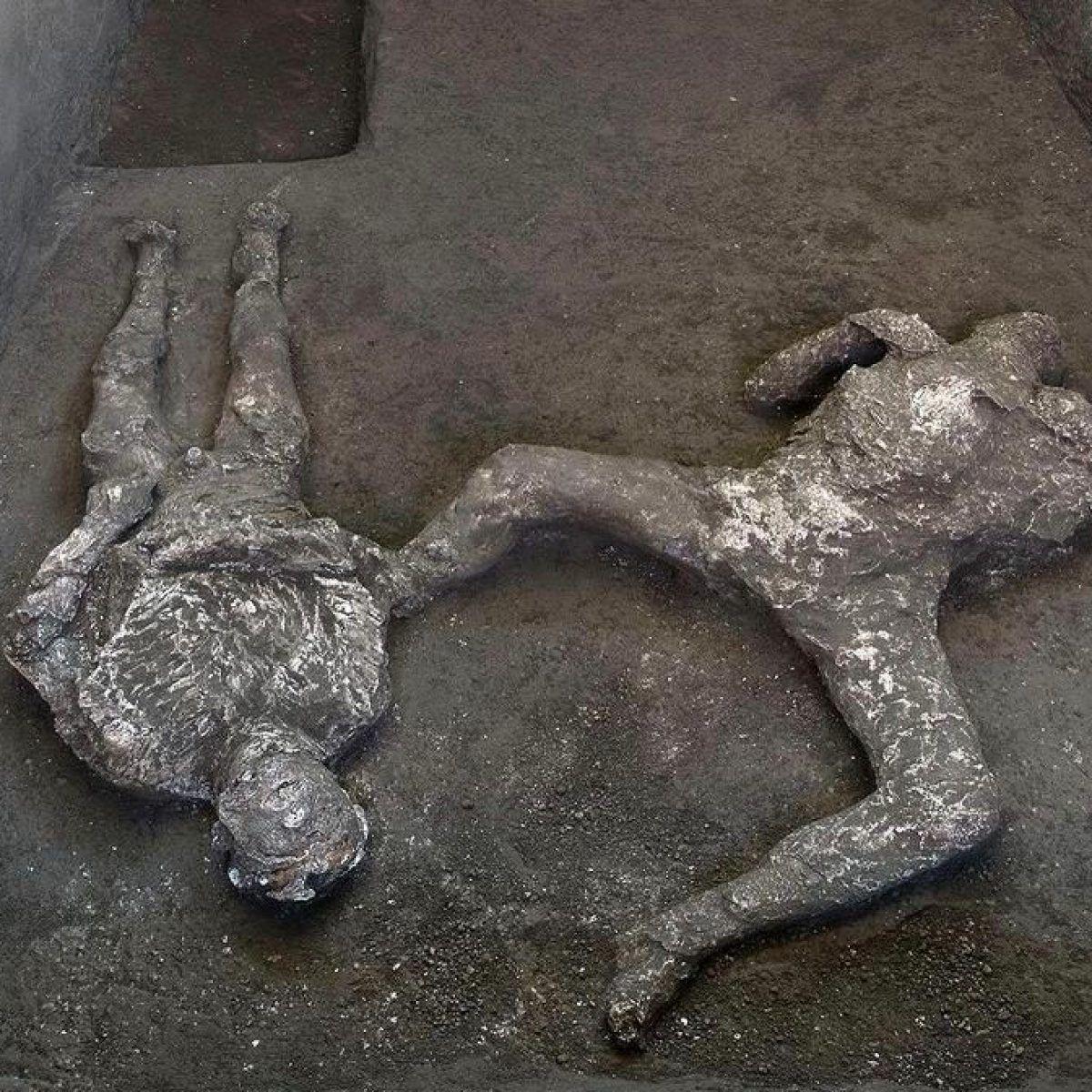 Pompei'de küllerle kaplı iki insan bedeni bulundu - Sayfa 2
