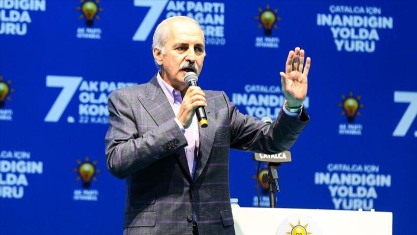 AK Parti Genel Başkanvekili Kurtulmuş: Çeviköz Amerika'dan demokrasi dileniyor