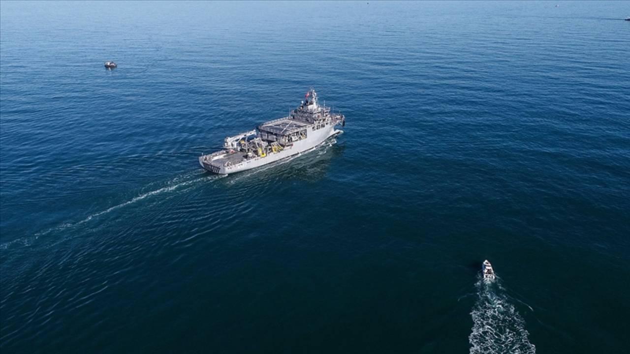 Yunan savaş uçakları 'TCG Çeşme' gemisini taciz etti