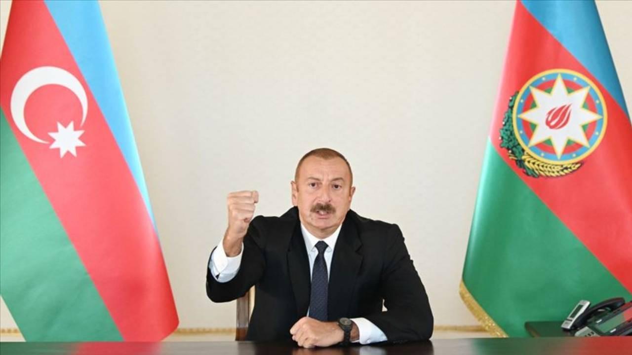 Aliyev'den Ermenistan için ilk açıklama geldi!