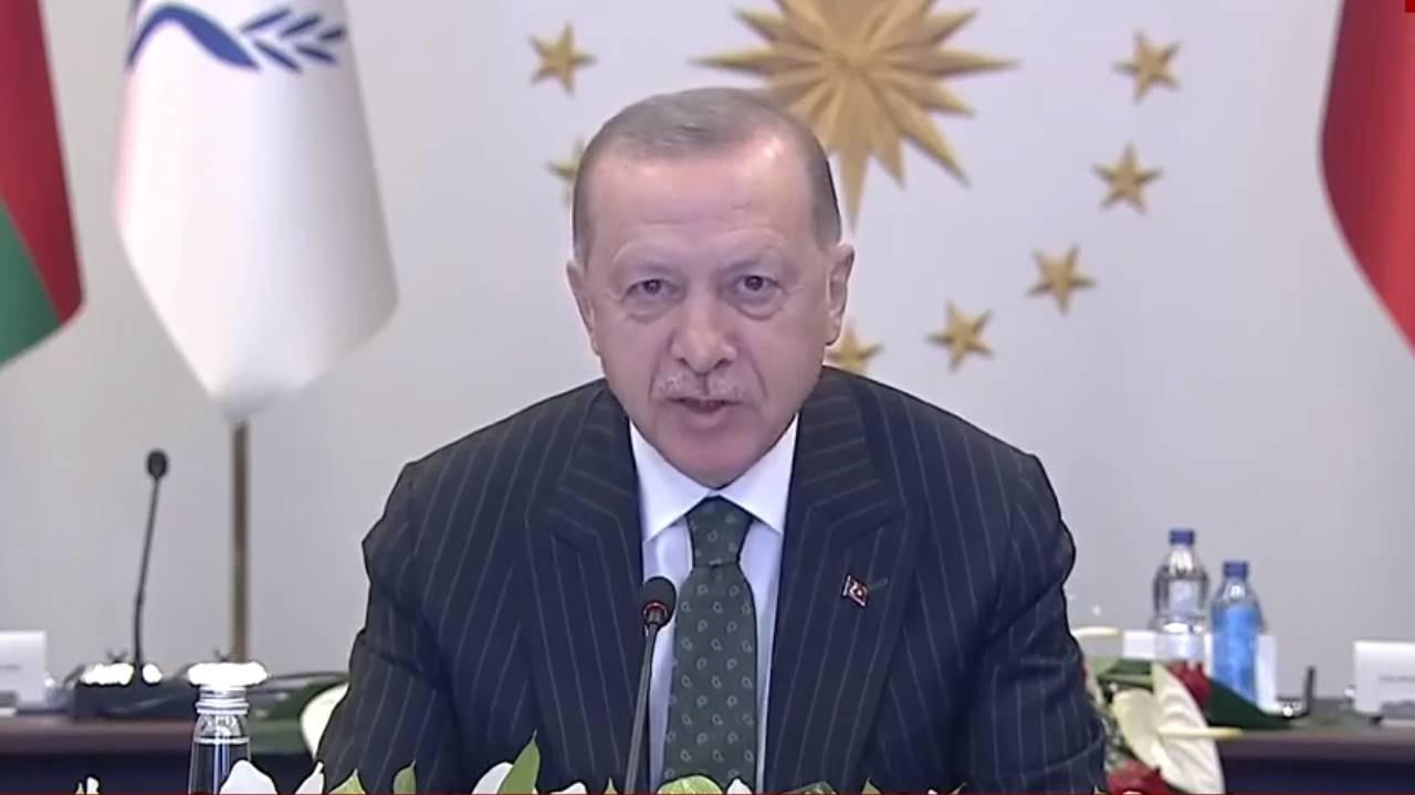 Cumhurbaşkanı Erdoğan: Önceliğimiz işgalin bıraktığı hasarı gidermek