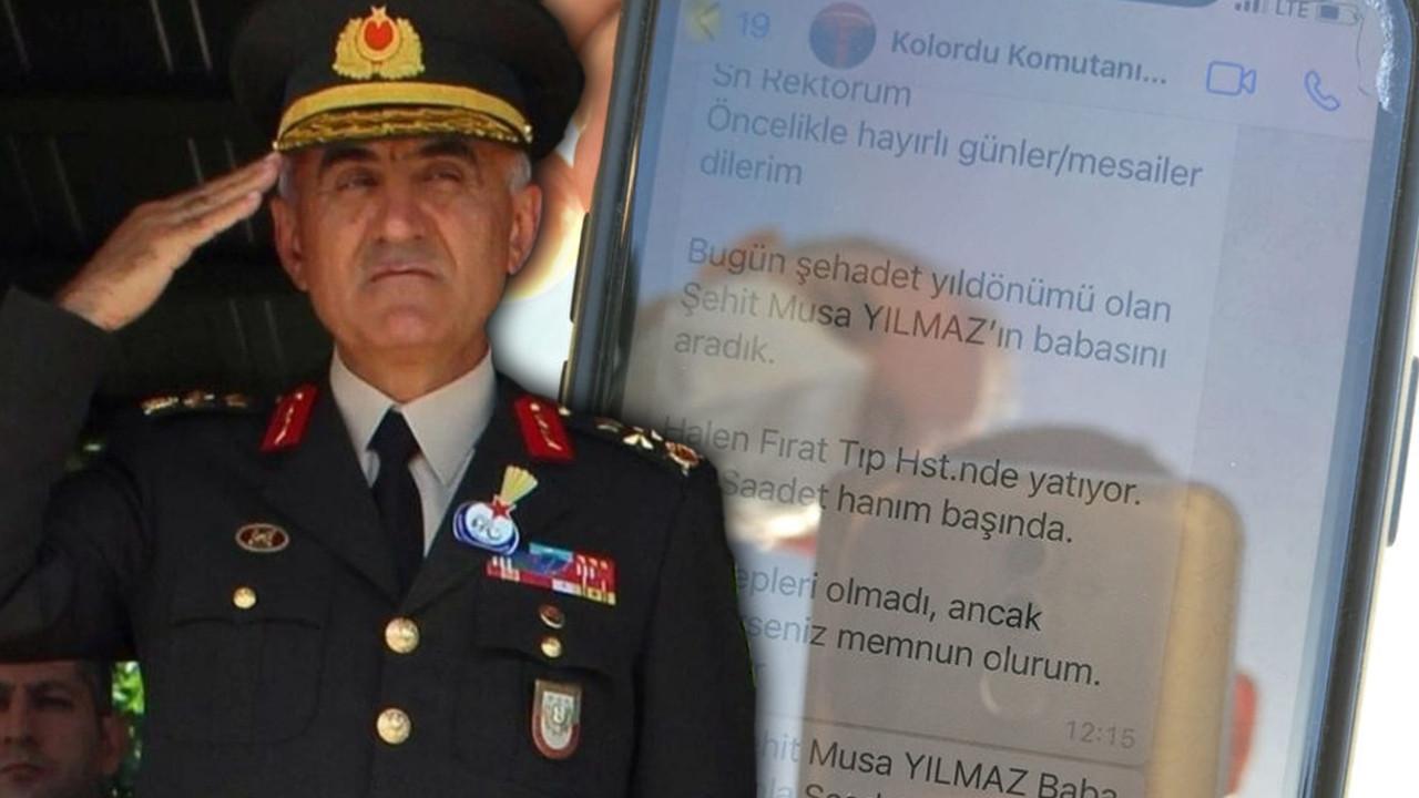 Şehit Korgeneral Osman Erbaş ile ilgili yürek yakan detay; 1,5 saat sonra kaza olmuş