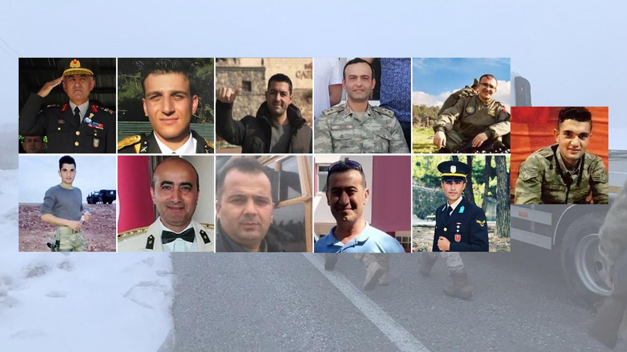 Bitlis şehitlerimizin kimlikleri belli oldu; Yüreğimiz yanıyor