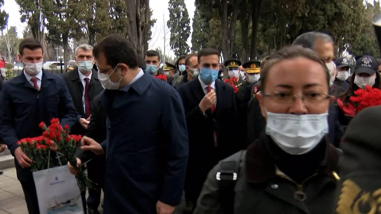 Ekrem İmamoğlu'na şehitlikte tepki: Burası Pervin Buldan ile çiçek ektiğin orman değil