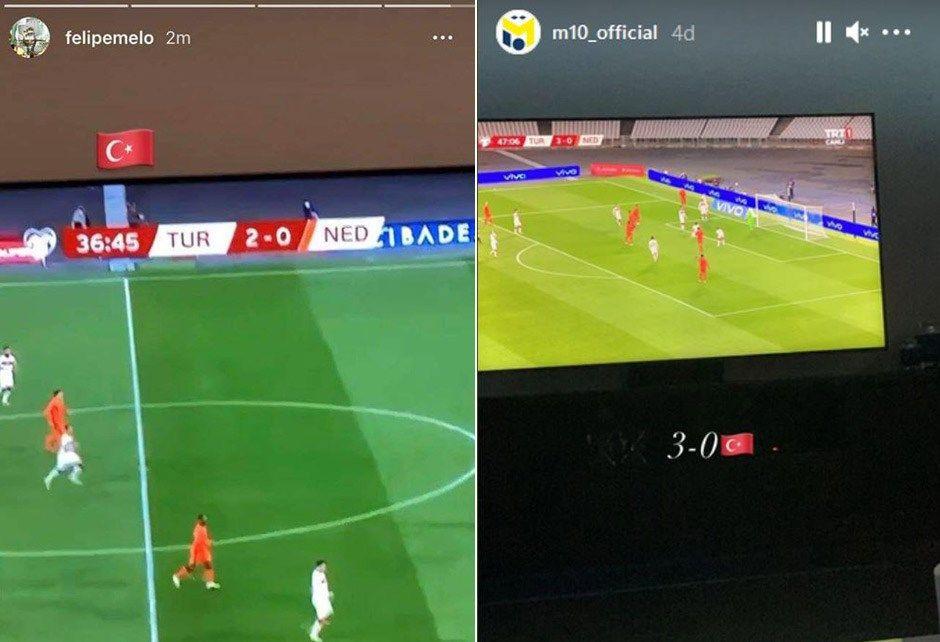 Josef de Souza, Mesut Özil ve Felipe Melo'dan Türkiye paylaşımı - Sayfa 2