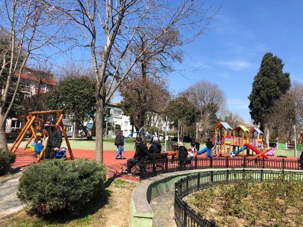 Bakırköy'de kısıtlamaya rağmen parklar doldu taştı - Sayfa 1